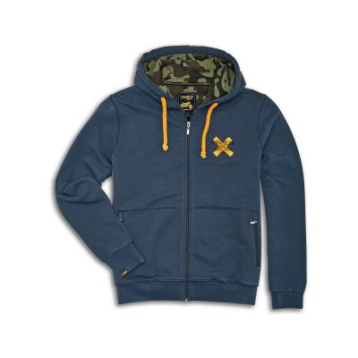 MIKINA SCRAMBLER CROSS HOODED
