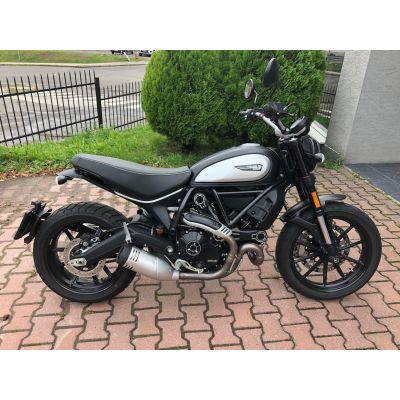 Scrambler Icon Dark (demo motocykel)